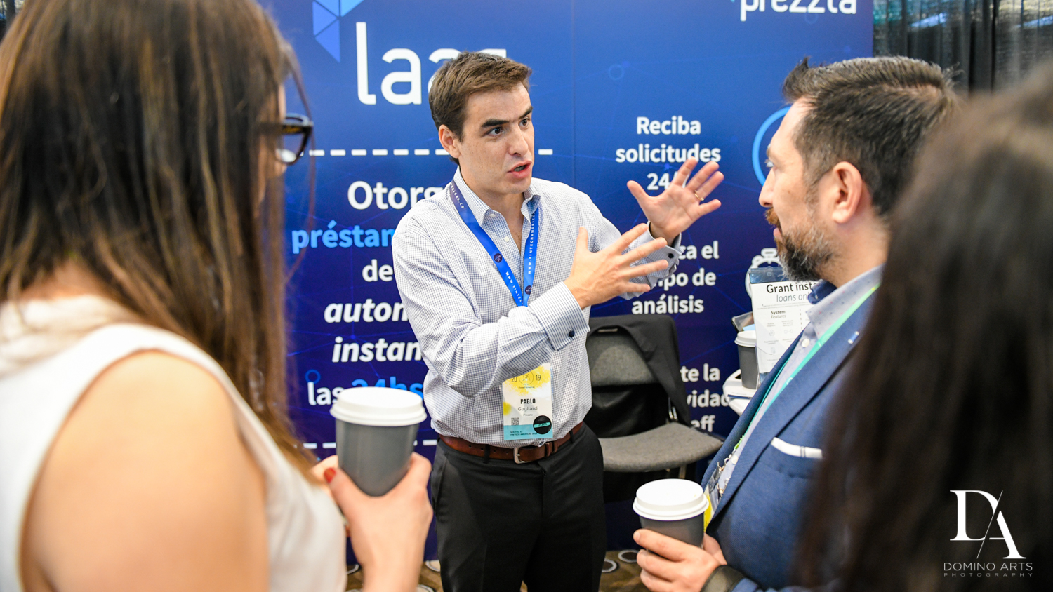 learning at Fintech Americas Banking Conference Miami by Domino Arts Photography
