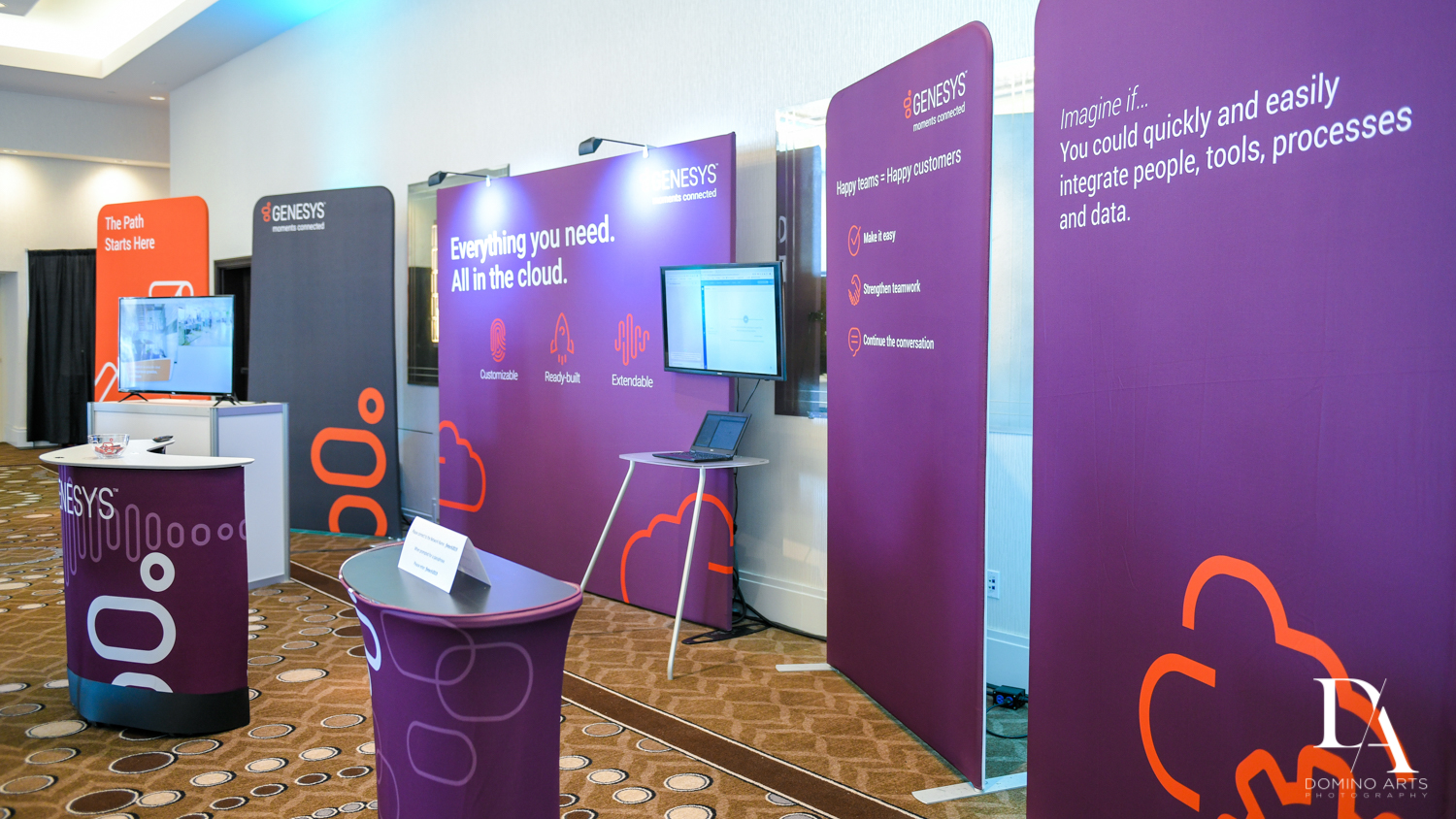 best booths at Fintech Americas Banking Conference Miami by Domino Arts Photography