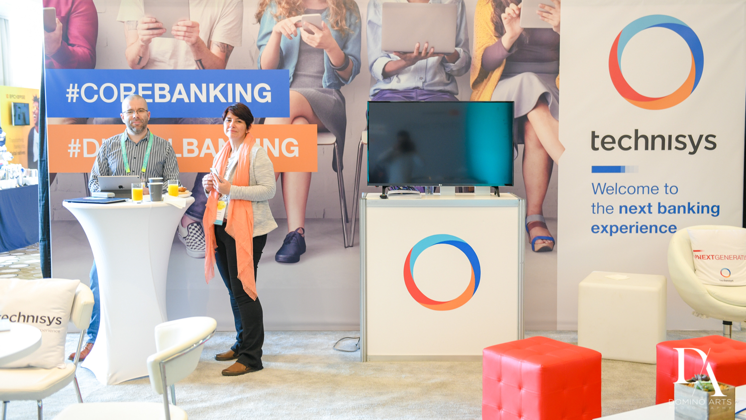 vendors at Fintech Americas Banking Conference Miami by Domino Arts Photography