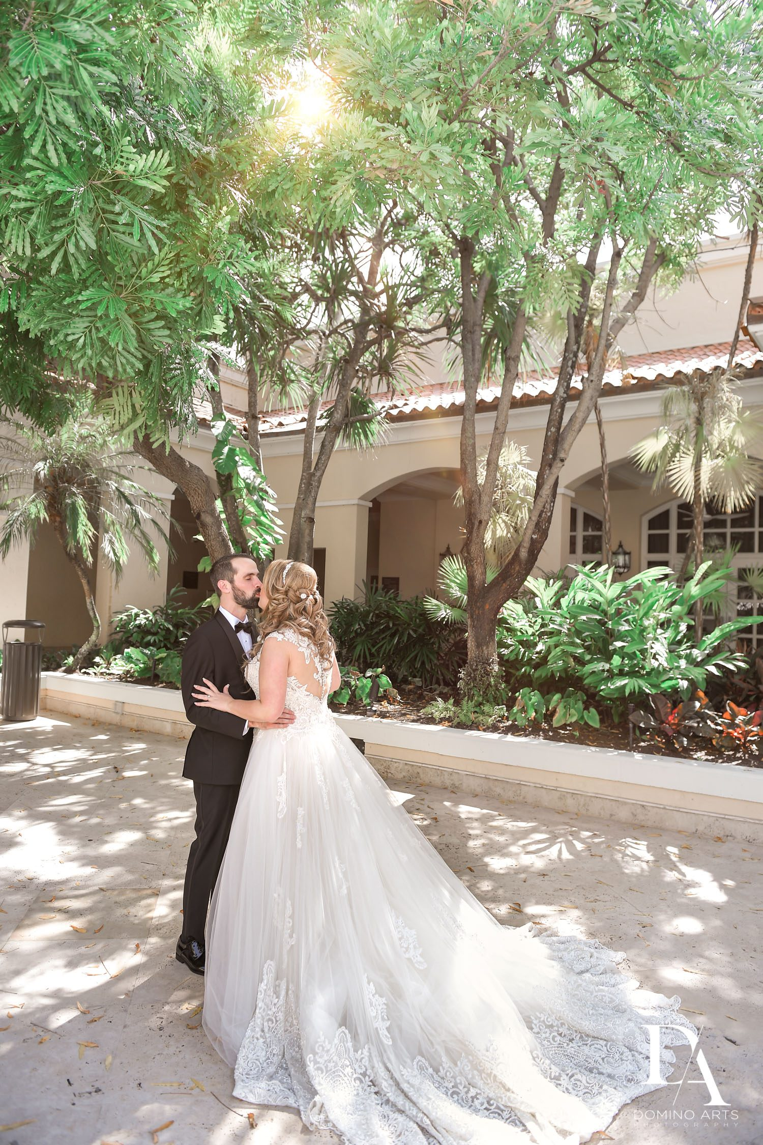 bride and groom at Ultimate Events Wedding at Turnberry Isle Resort Miami by Domino Arts Photography
