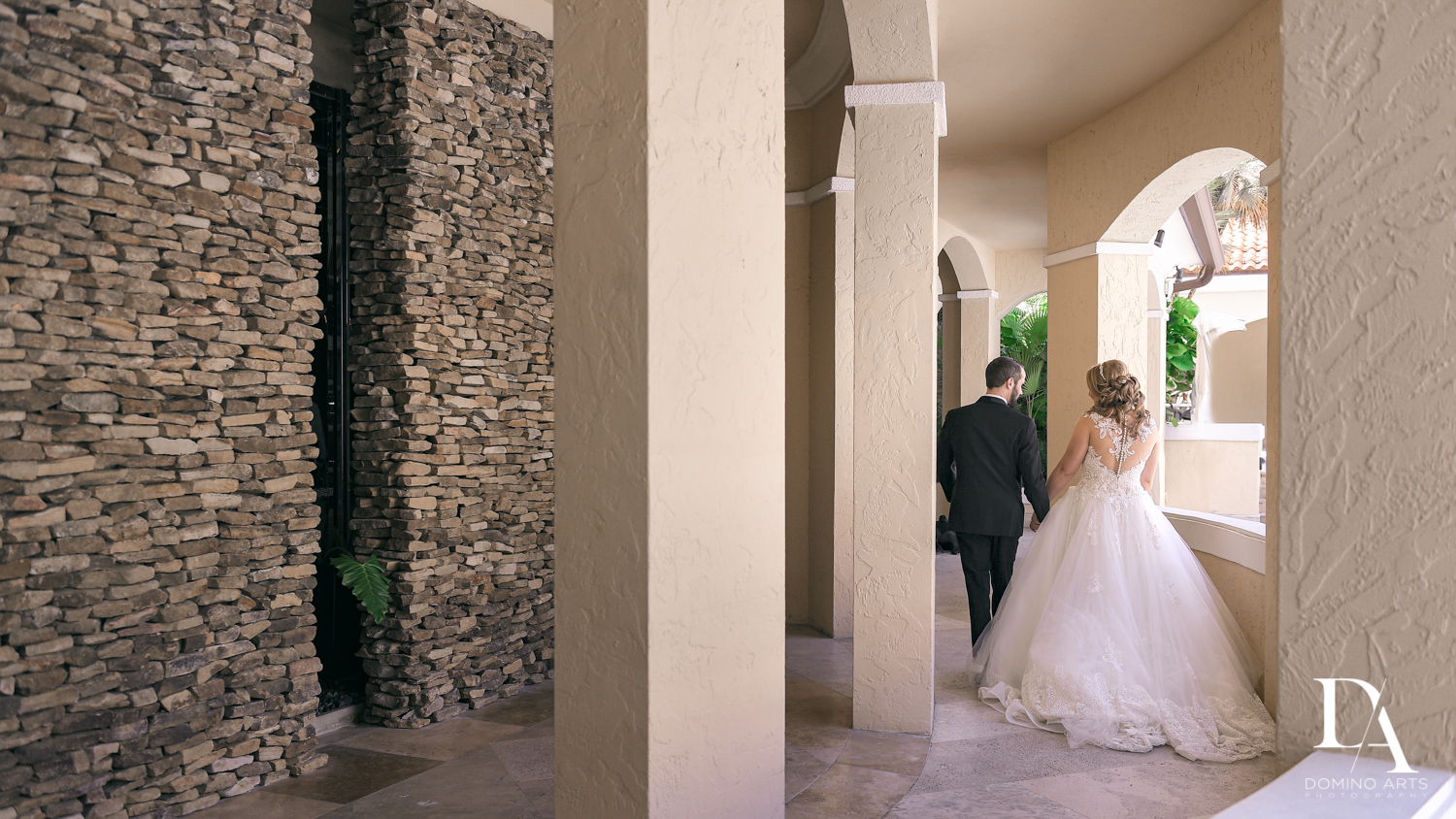 romantic bride and groom at Ultimate Events Wedding at Turnberry Isle Resort Miami by Domino Arts Photography