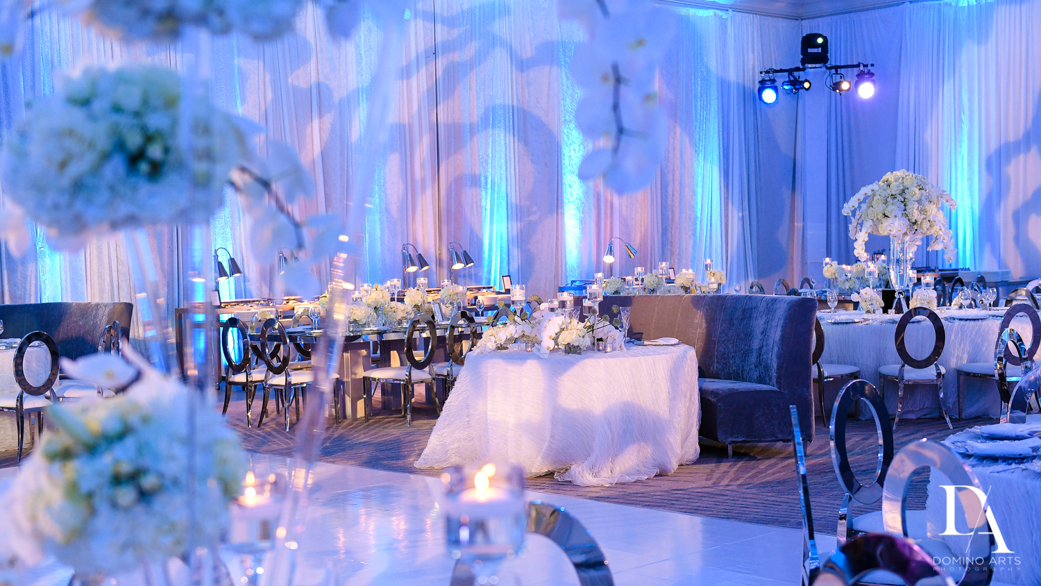 best luxury decir at Ultimate Events Wedding at Turnberry Isle Resort Miami by Domino Arts Photography