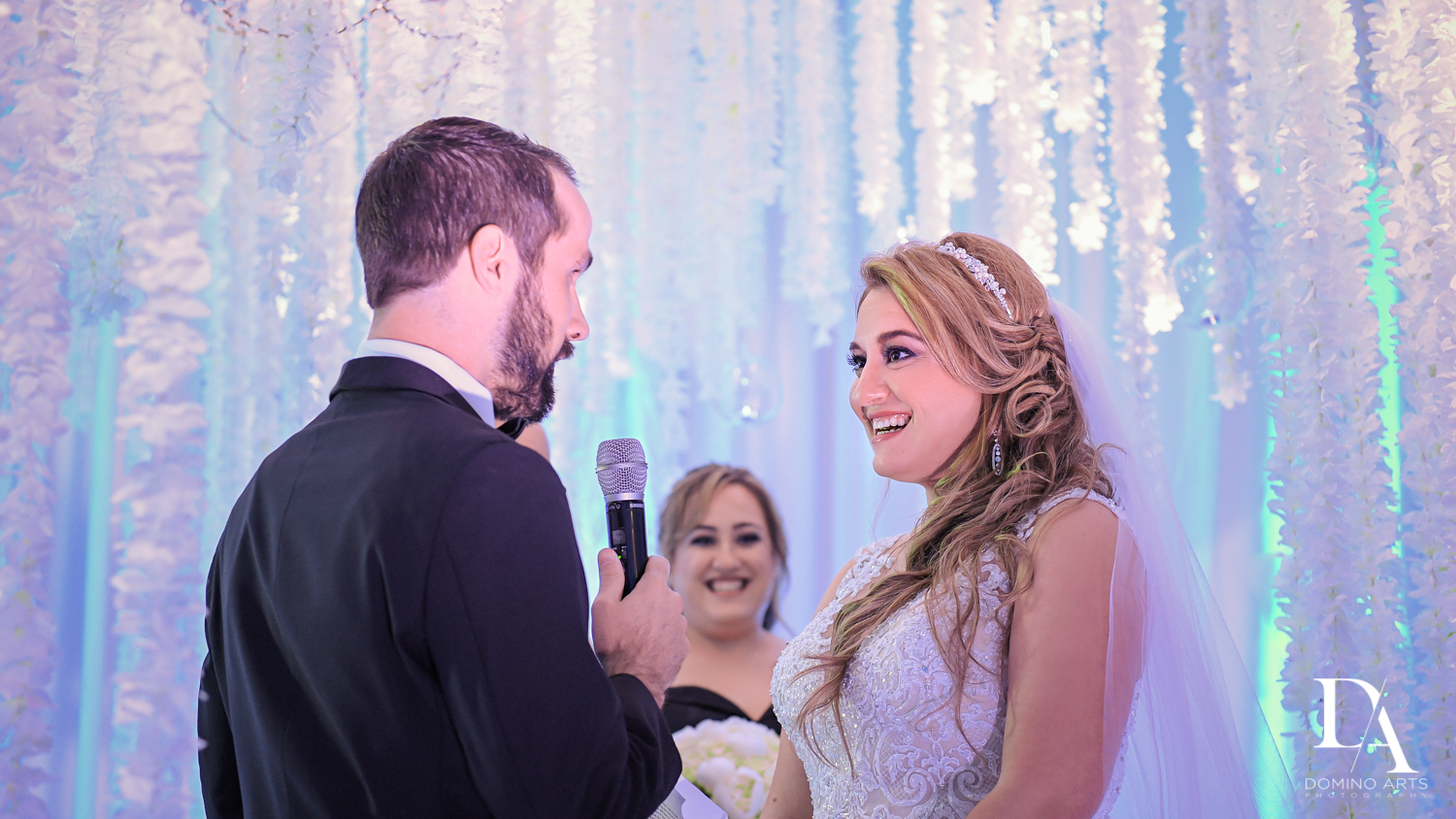 vows at Ultimate Events Wedding at Turnberry Isle Resort Miami by Domino Arts Photography