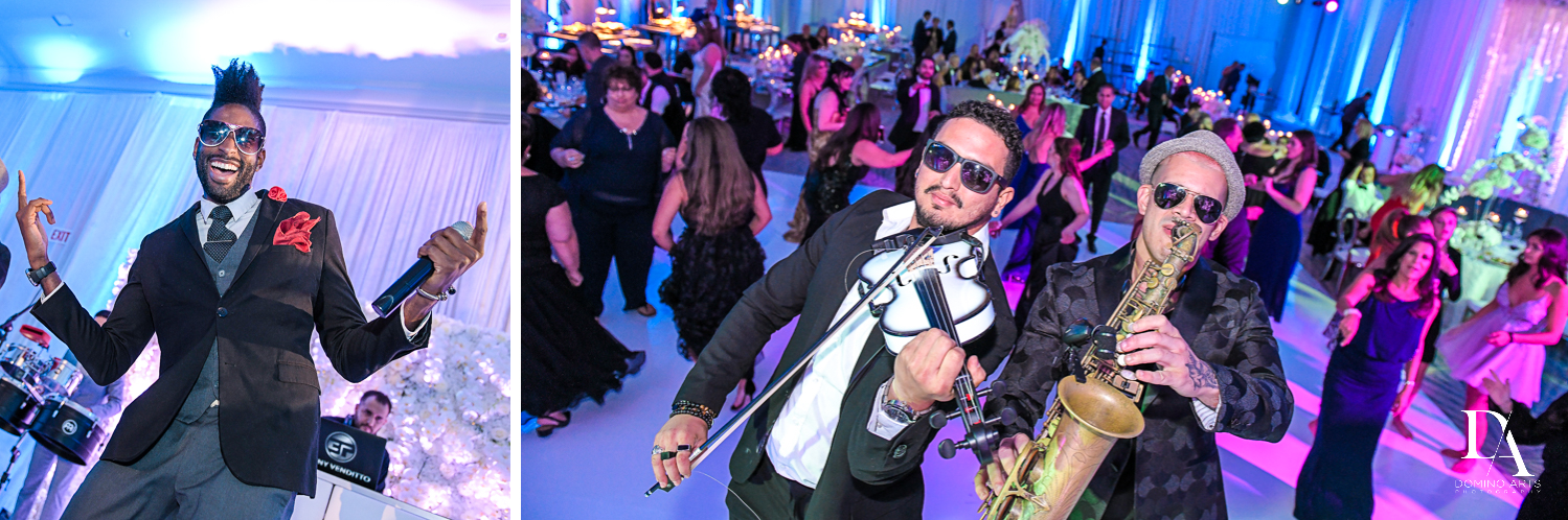 best entertainment at Ultimate Events Wedding at Turnberry Isle Resort Miami by Domino Arts Photography