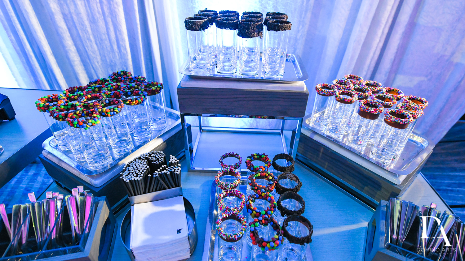unqiue dessert idea for Ultimate Events Wedding at Turnberry Isle Resort Miami by Domino Arts Photography