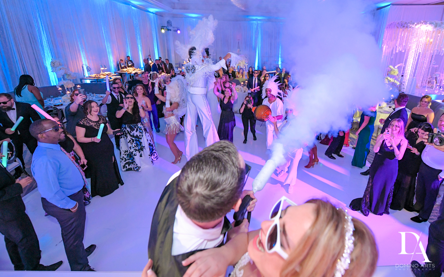hora loca at Ultimate Events Wedding at Turnberry Isle Resort Miami by Domino Arts Photography
