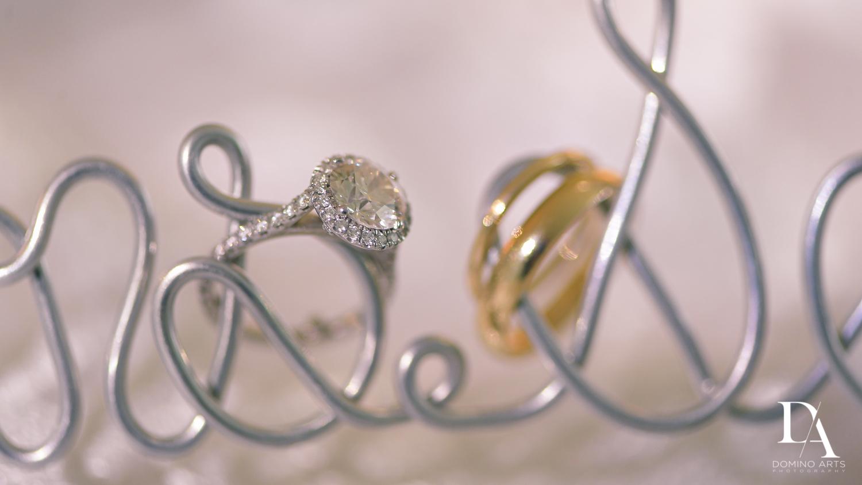 swedding rings at Elegant Classy Wedding at Trump Doral by Domino Arts Photography