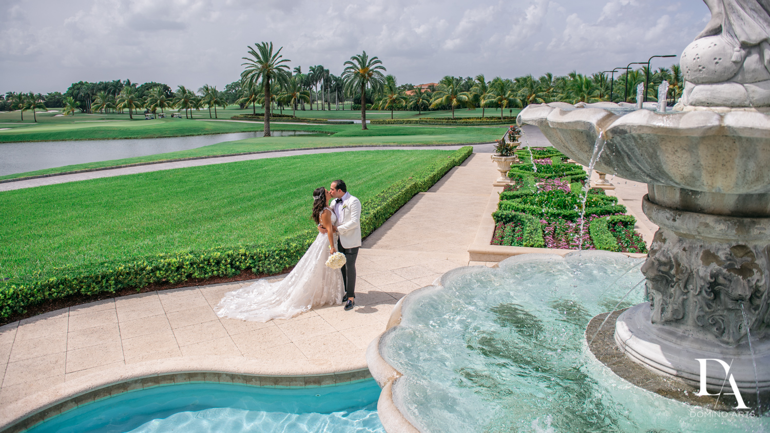 romantic pictures at Elegant Classy Wedding at Trump Doral by Domino Arts Photography