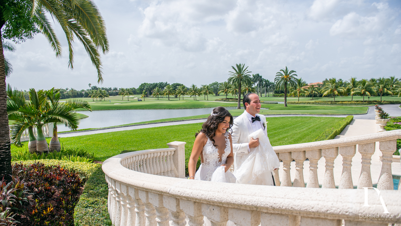 photo journalism at Elegant Classy Wedding at Trump Doral by Domino Arts Photography