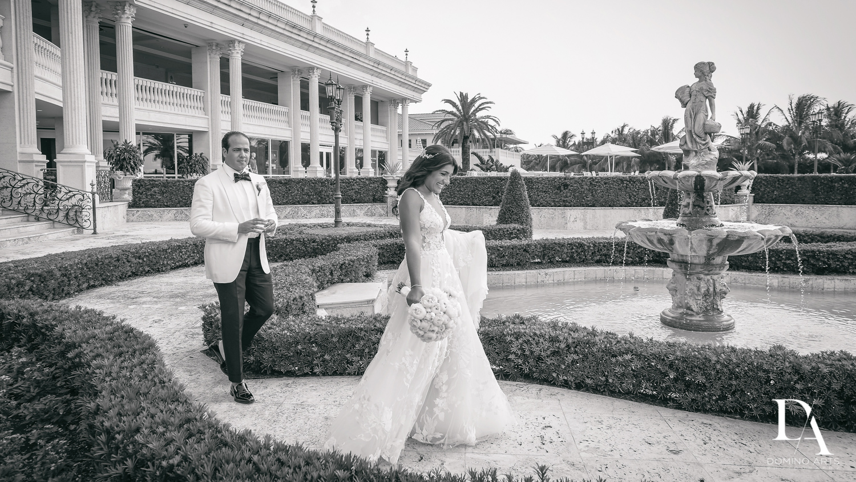 B&W photo journalism at Elegant Classy Wedding at Trump Doral by Domino Arts Photography