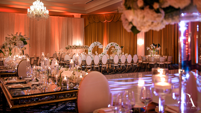 amazinf decor at Elegant Classy Wedding at Trump Doral by Domino Arts Photography