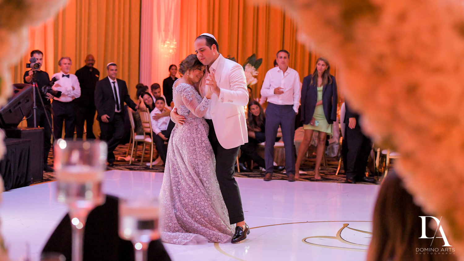 parent dance at Elegant Classy Wedding at Trump Doral by Domino Arts Photography