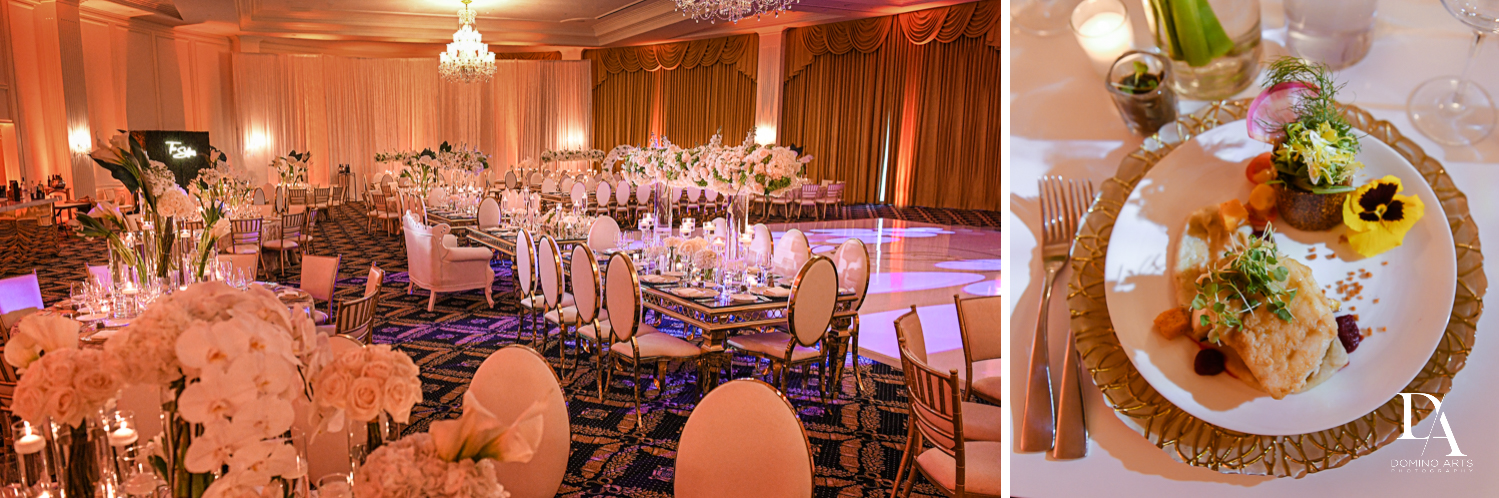 amazinf events decor at Elegant Classy Wedding at Trump Doral by Domino Arts Photography