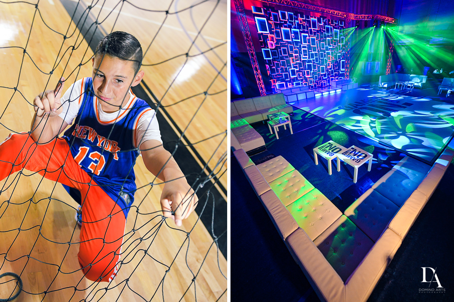 best photography at Sports Theme Bar Mitzvah at DS Sports Plex by Domino Arts Photography