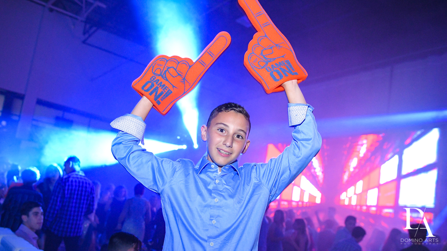 Game On at Sports Theme Bar Mitzvah at DS Sports Plex by Domino Arts Photography