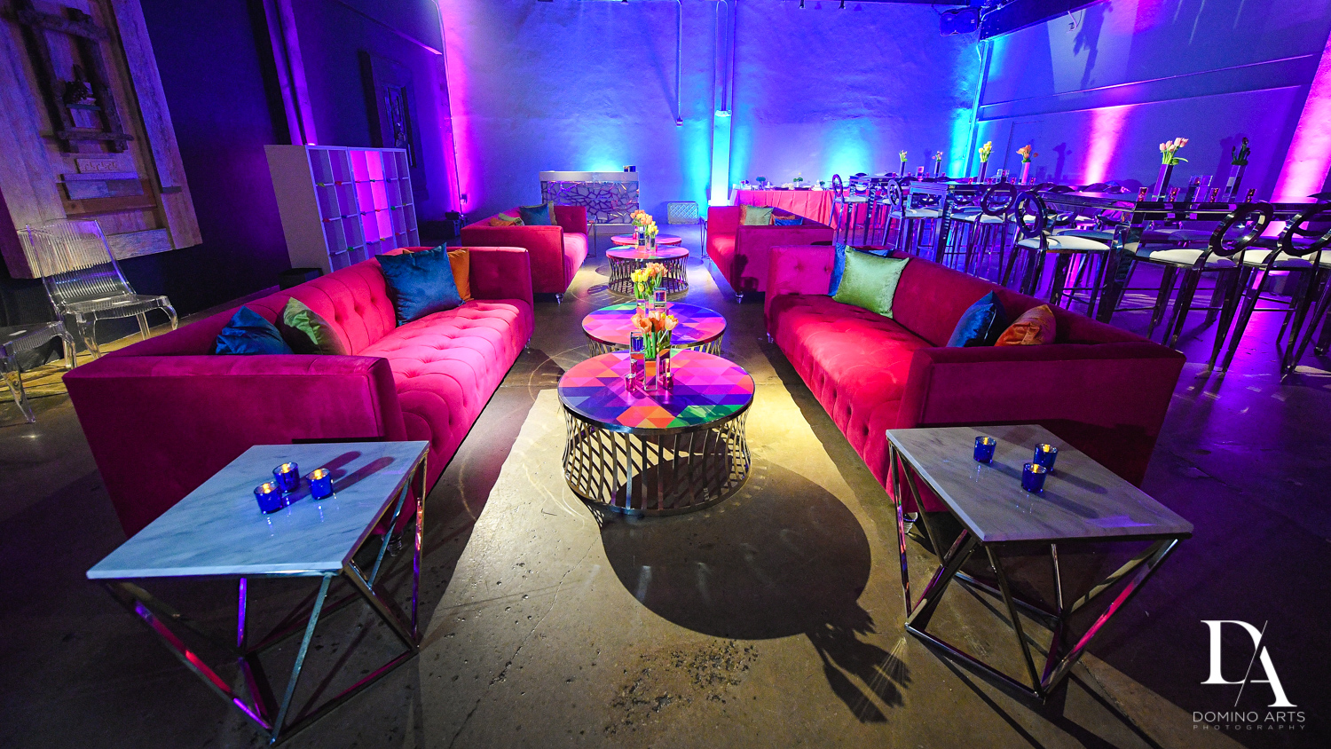 Colorful B'Not Mitzvah DECOR at Gallery of Amazing Things by Domino Arts Photography