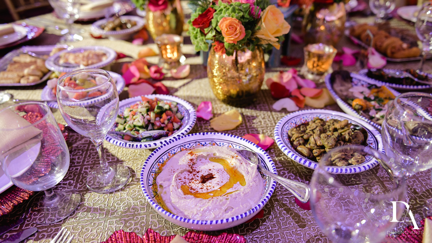 best catering at Authentic Morrocan Jewish Henna Party by Domino Arts Photography