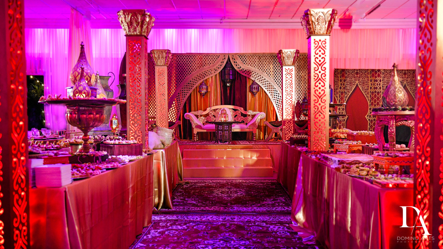 room decor at Authentic Morrocan Jewish Henna Party by Domino Arts Photography