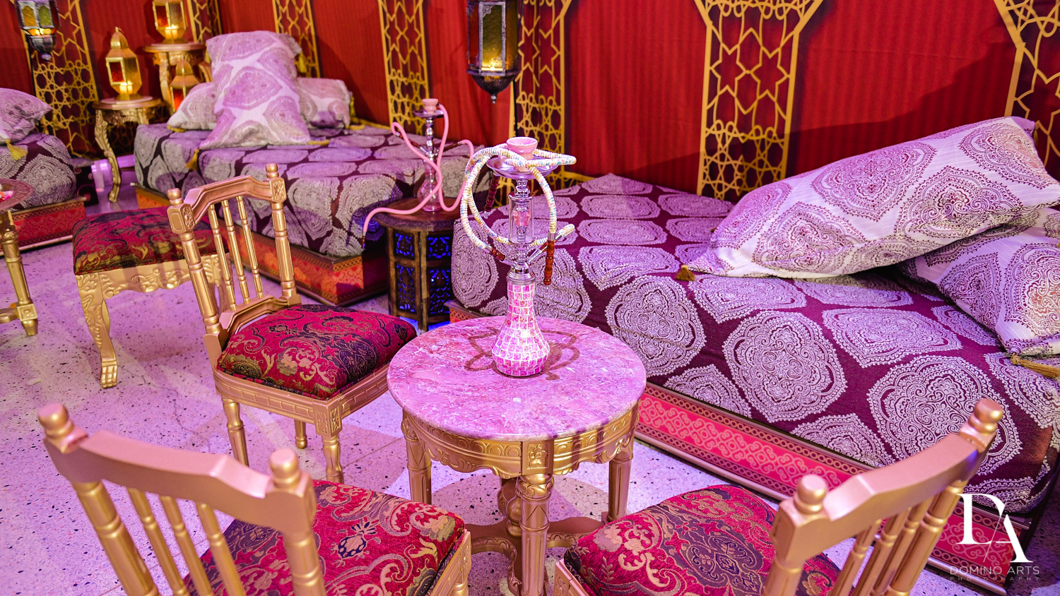 rental decor at Authentic Morrocan Jewish Henna Party by Domino Arts Photography