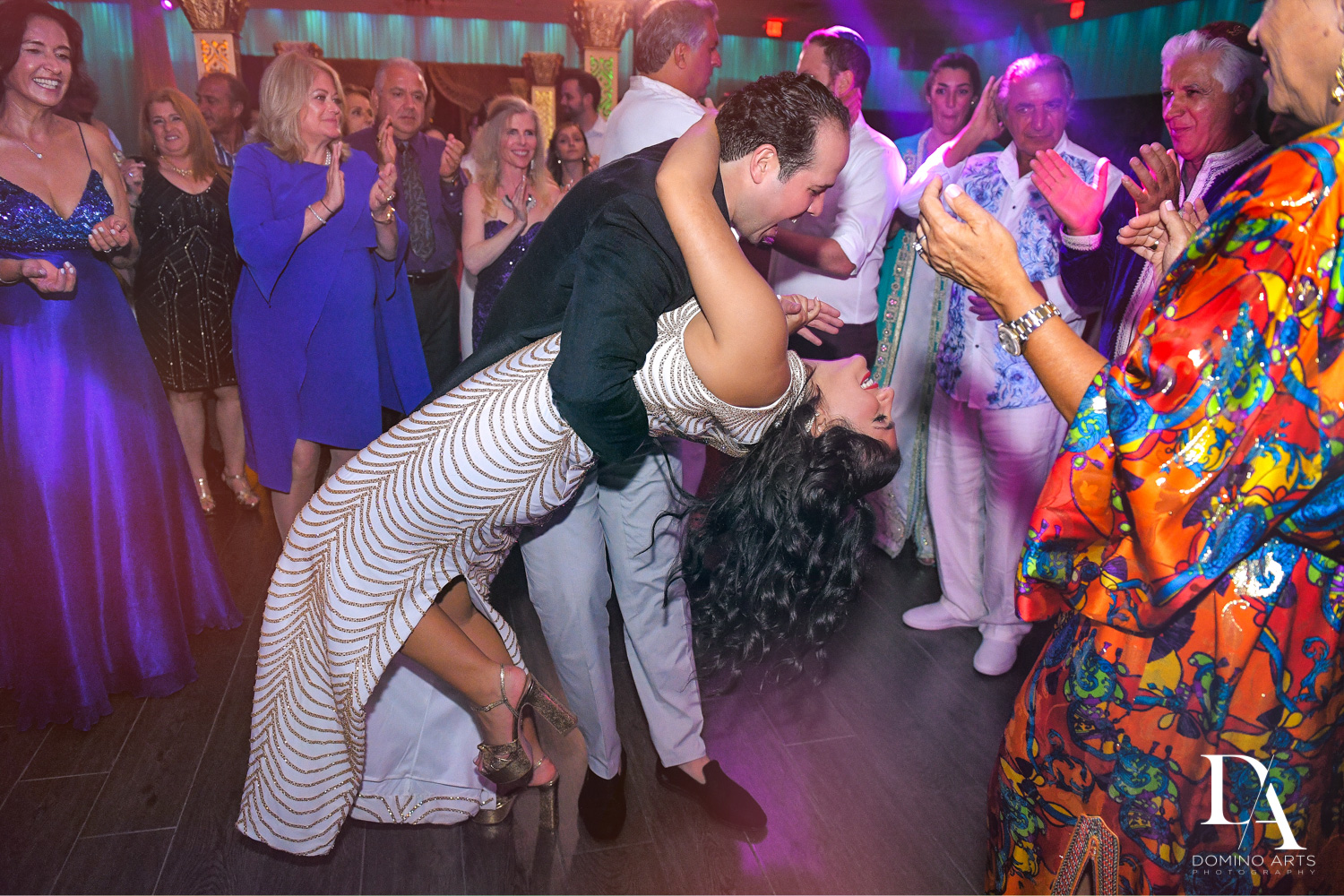 party dancing at Authentic Morrocan Jewish Henna Party by Domino Arts Photography