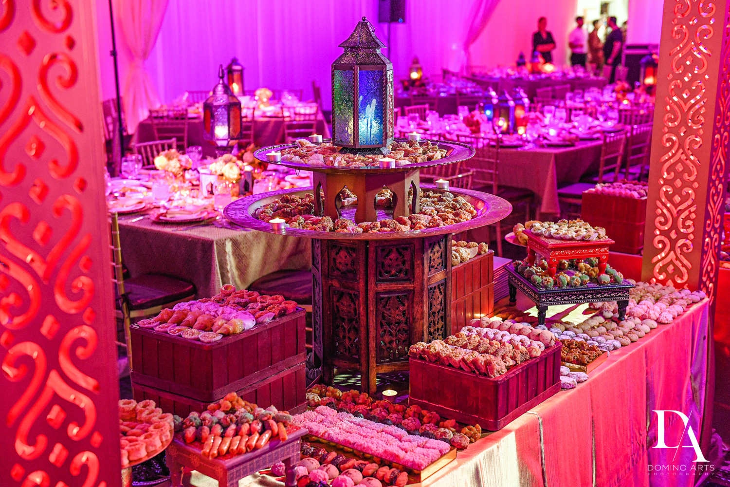 morrocan catering at Authentic Morrocan Jewish Henna Party by Domino Arts Photography