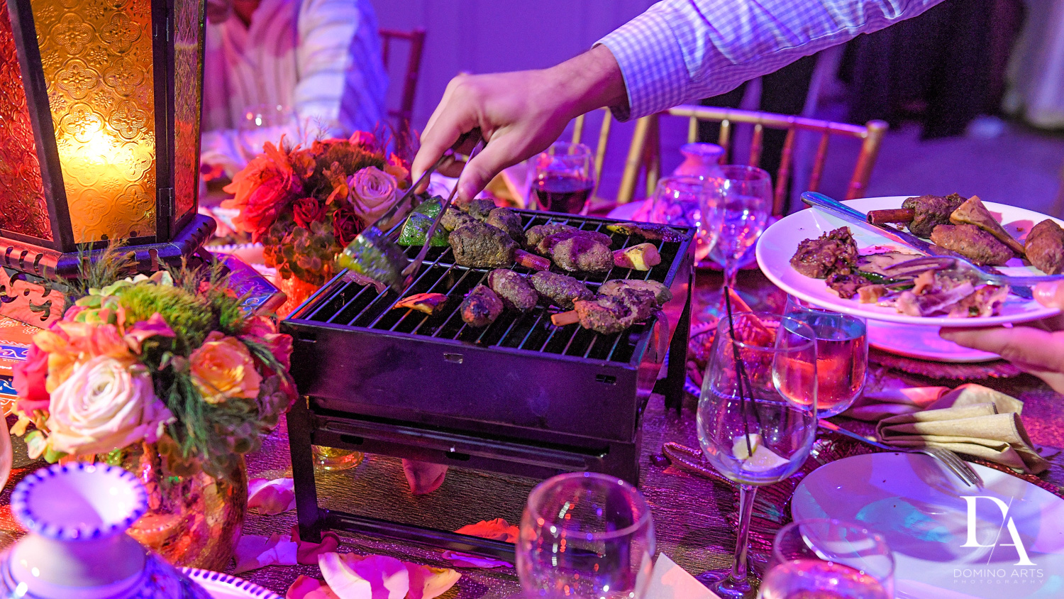 shish kebab at Authentic Morrocan Jewish Henna Party by Domino Arts Photography