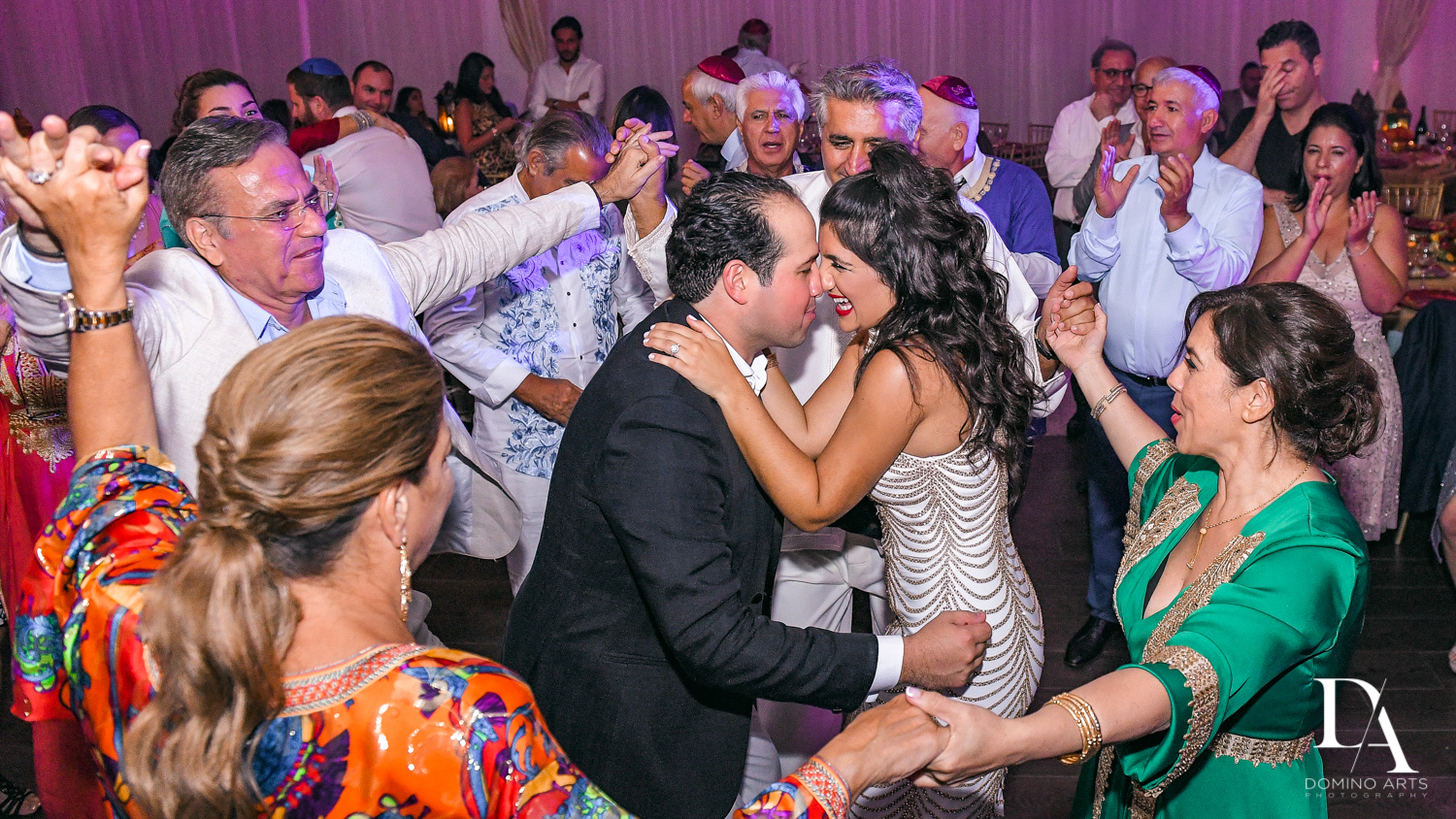 hora at Authentic Morrocan Jewish Henna Party by Domino Arts Photography