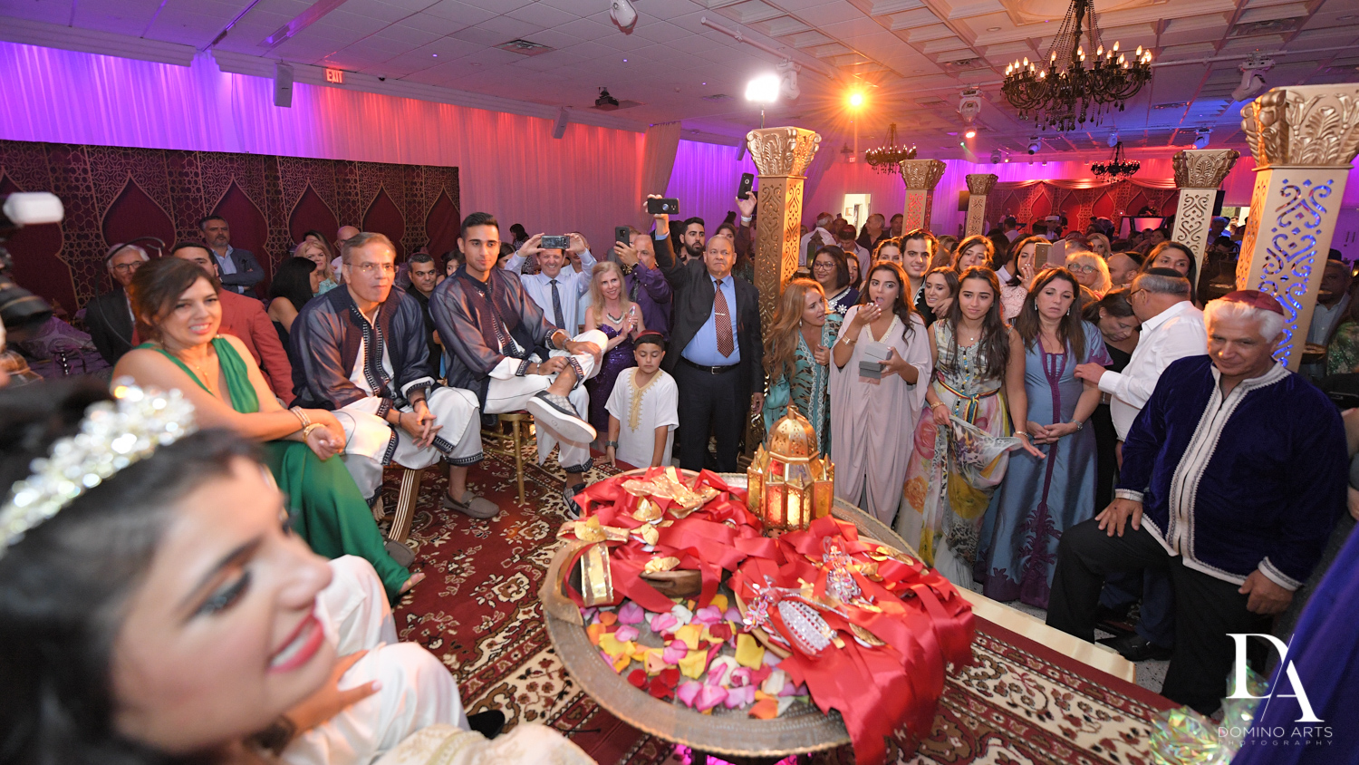 wedding traditions at Authentic Morrocan Jewish Henna Party by Domino Arts Photography