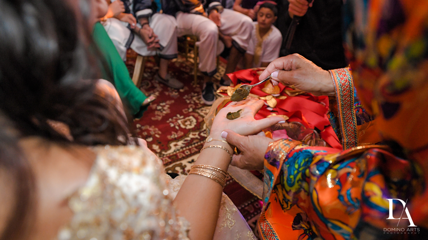 henna tradition at Authentic Morrocan Jewish Henna Party by Domino Arts Photography