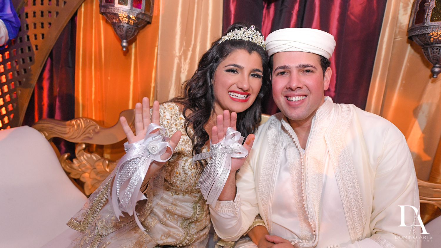 bride and groom tradition at Authentic Morrocan Jewish Henna Party by Domino Arts Photography