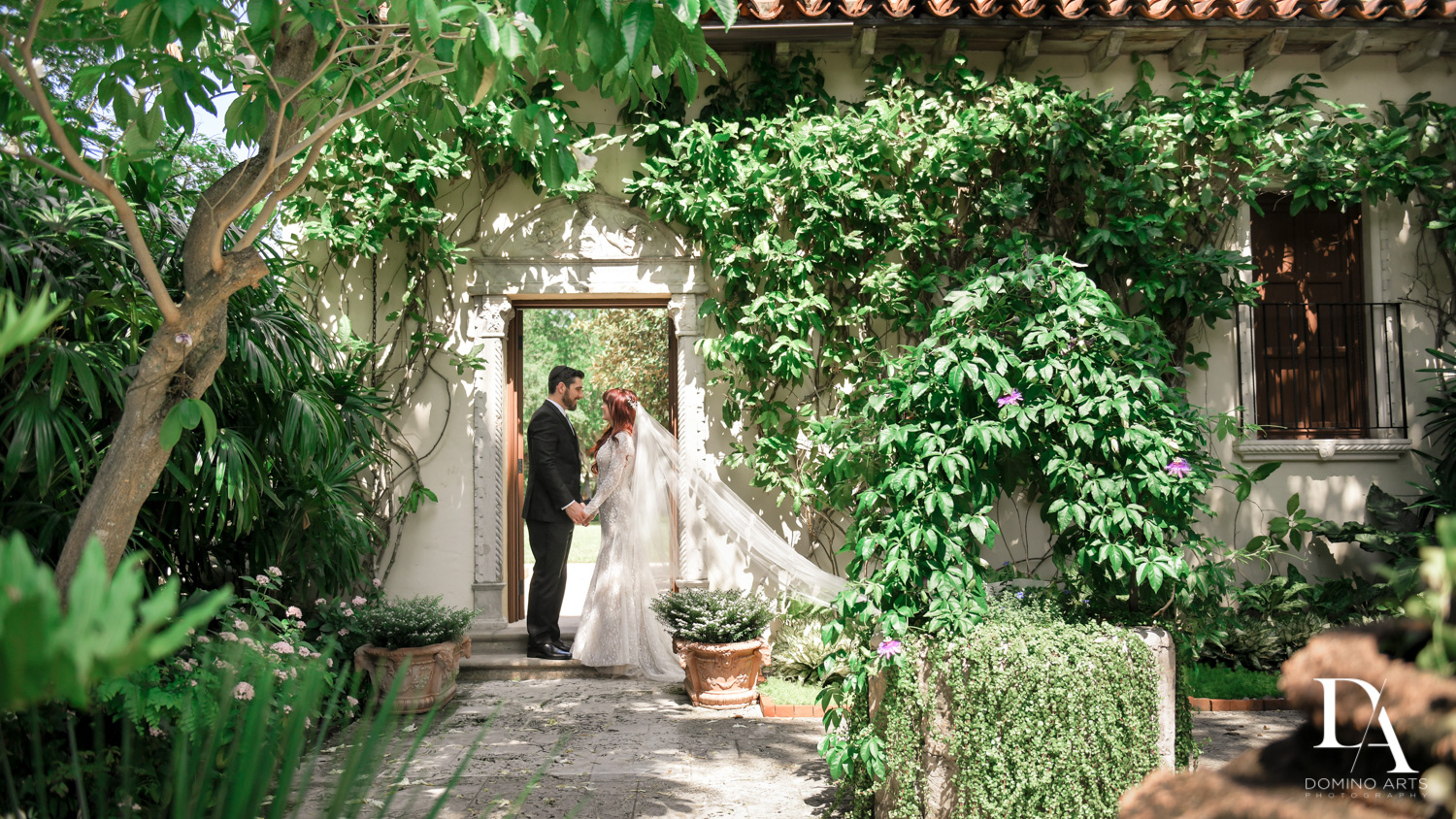 Vintage Garden Wedding at Flagler Museum Palm Beach by Domino Arts Photography