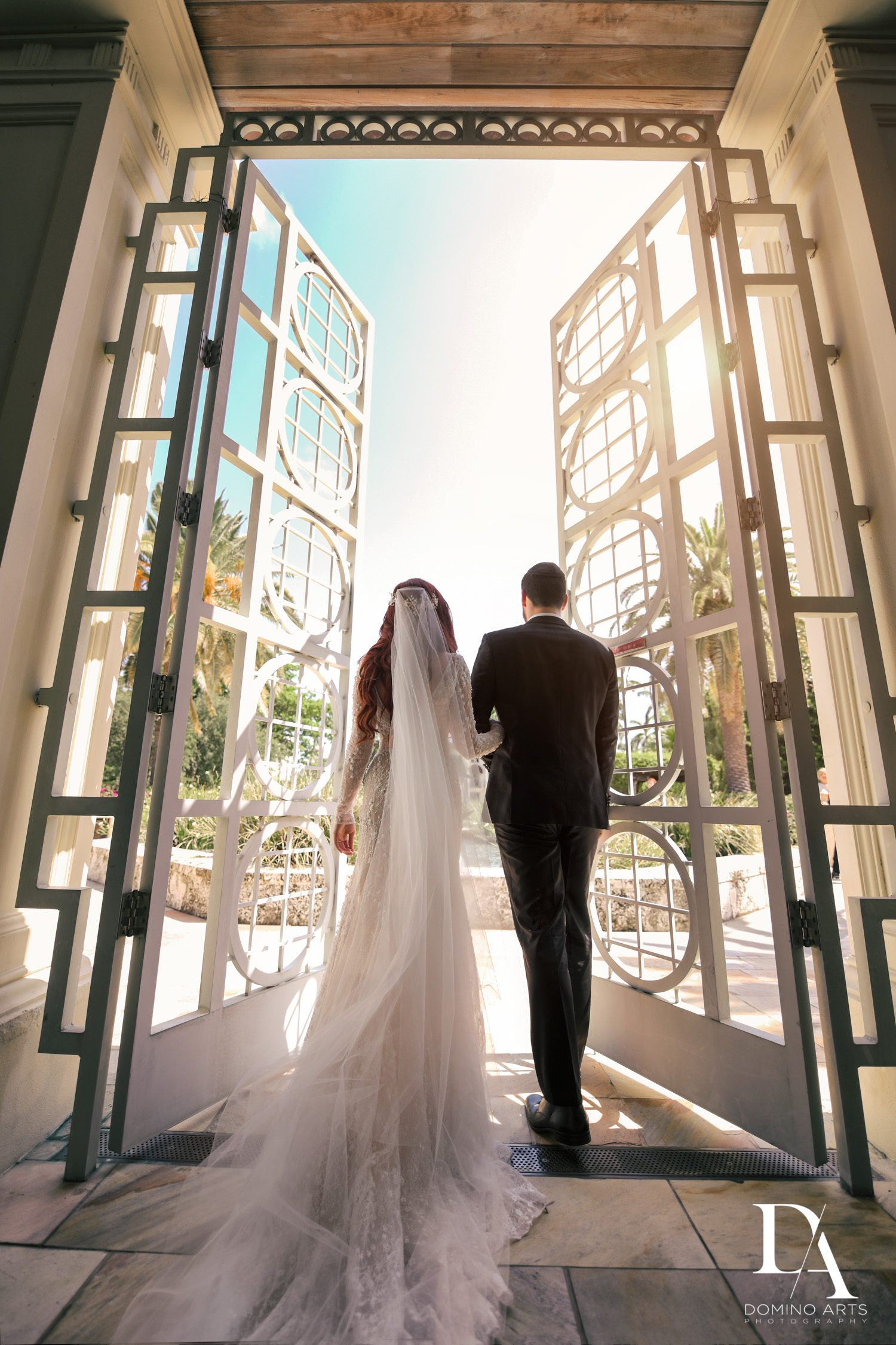 creative shots at Vintage Garden Wedding at Flagler Museum Palm Beach by Domino Arts Photography
