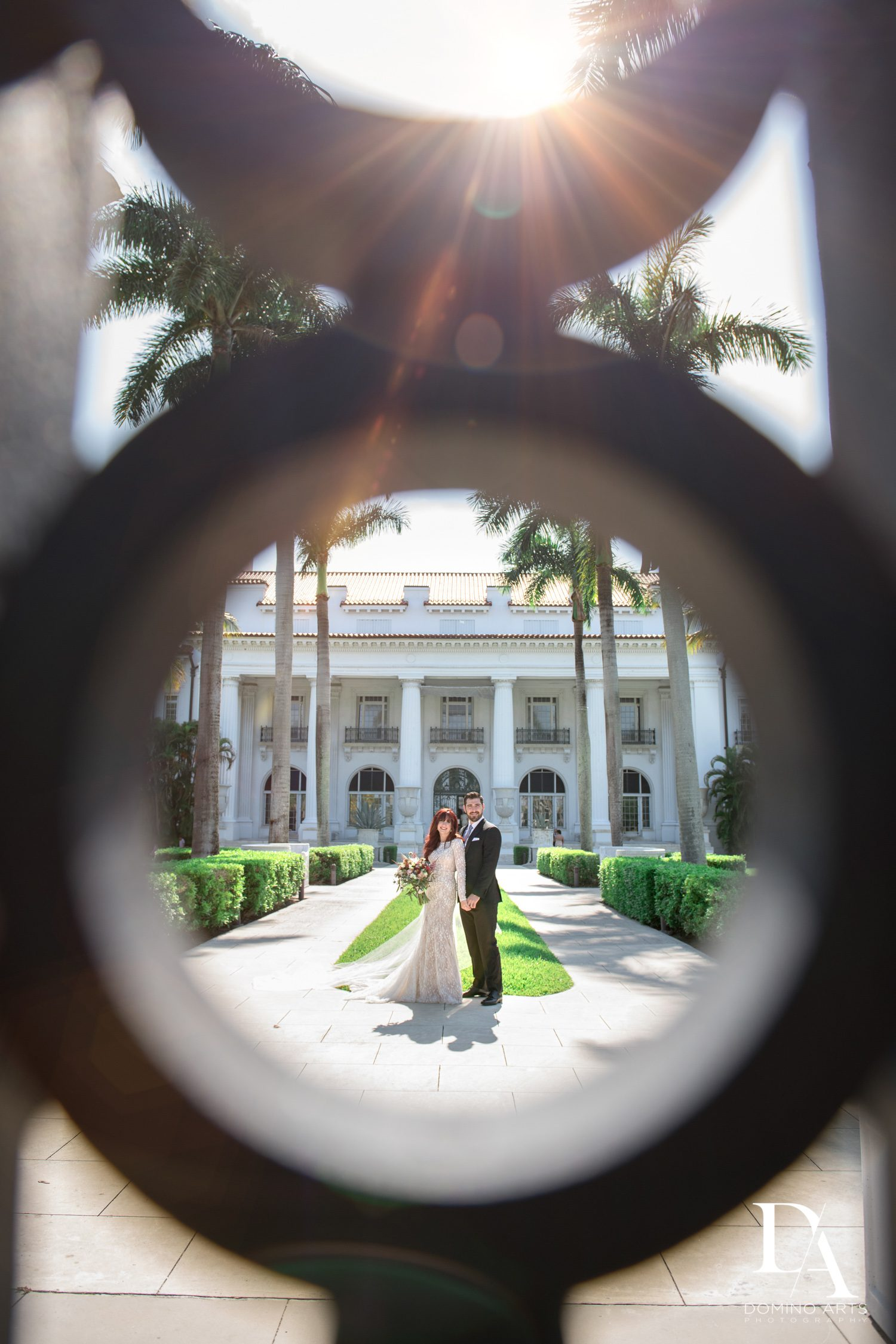 creative different pictures at Vintage Garden Wedding at Flagler Museum Palm Beach by Domino Arts Photography
