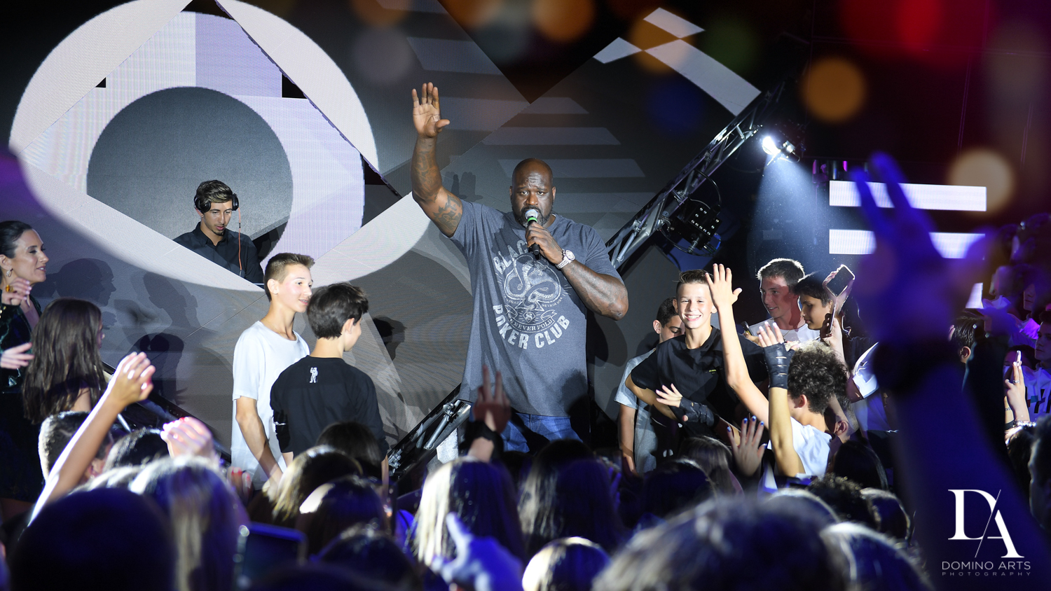 Urban Graffiti BNai Mitzvah with celebrity Shaq at Xtreme Action Park by Domino Arts Photography