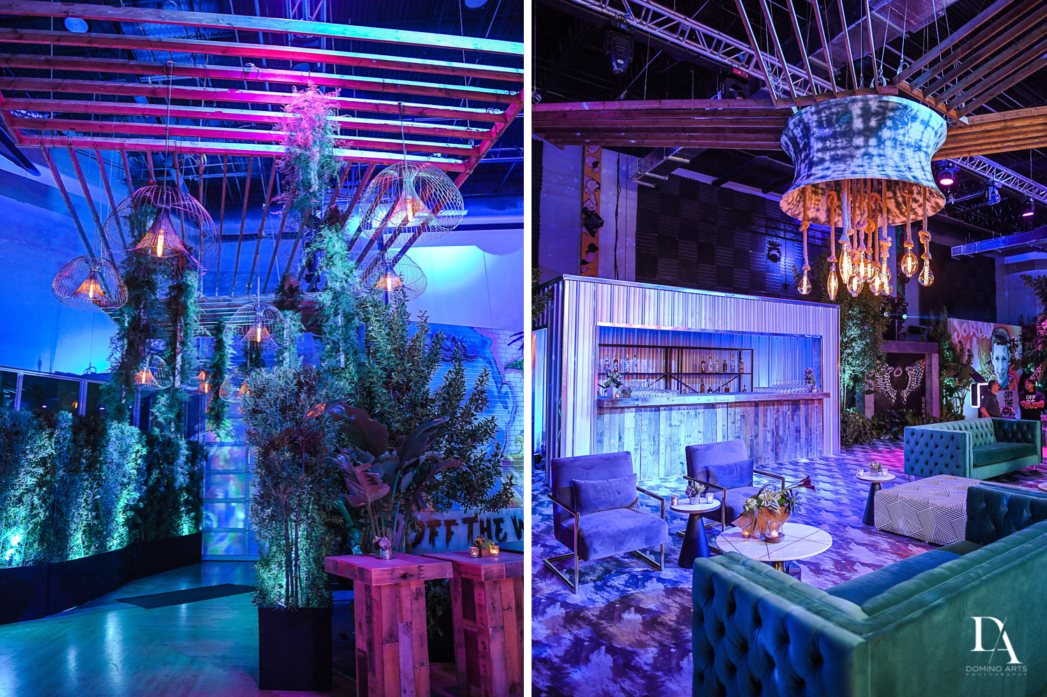 decor and details at Urban Graffiti BNai Mitzvah with celebrity Shaq at Xtreme Action Park by Domino Arts Photography