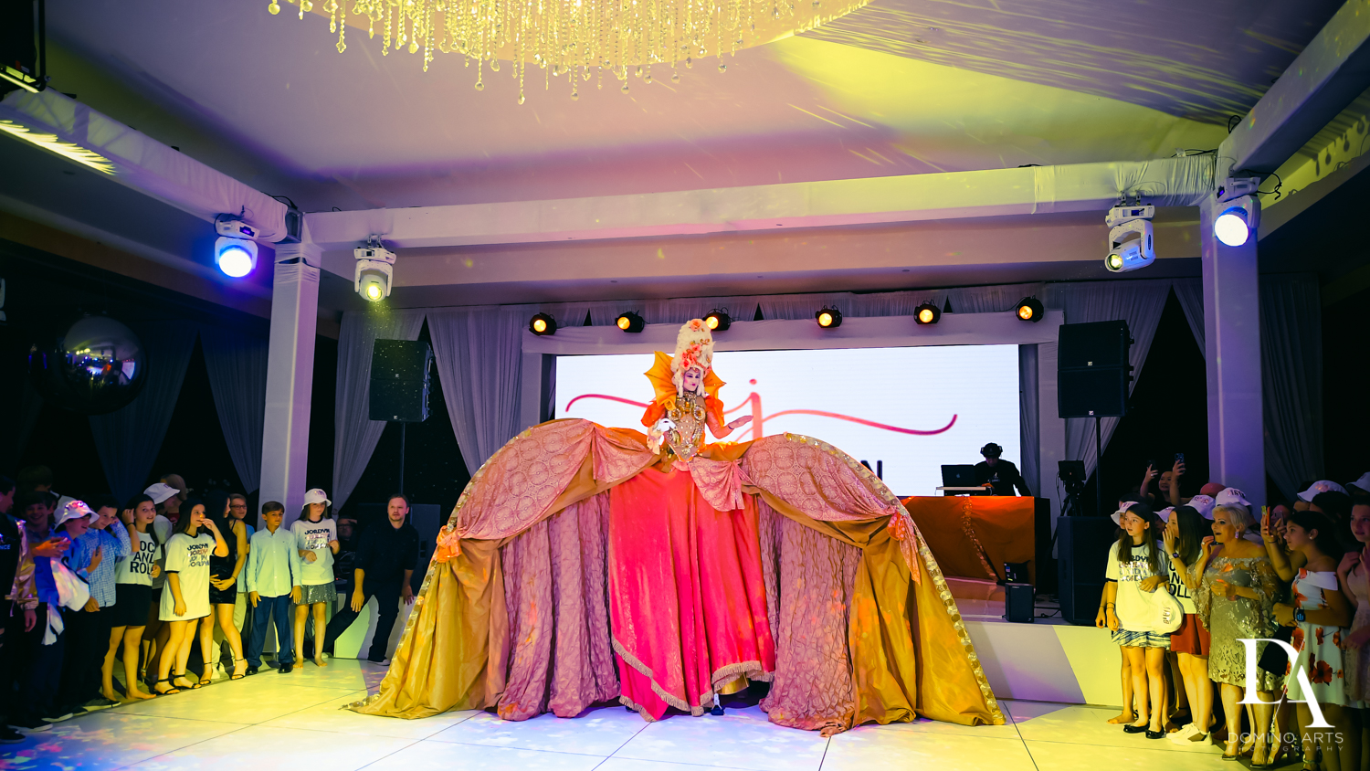 New Century Dance Company at Masquerade Ball Bat Mitzvah at Ritz Carlton Fort Lauderdale by Domino Arts Photography