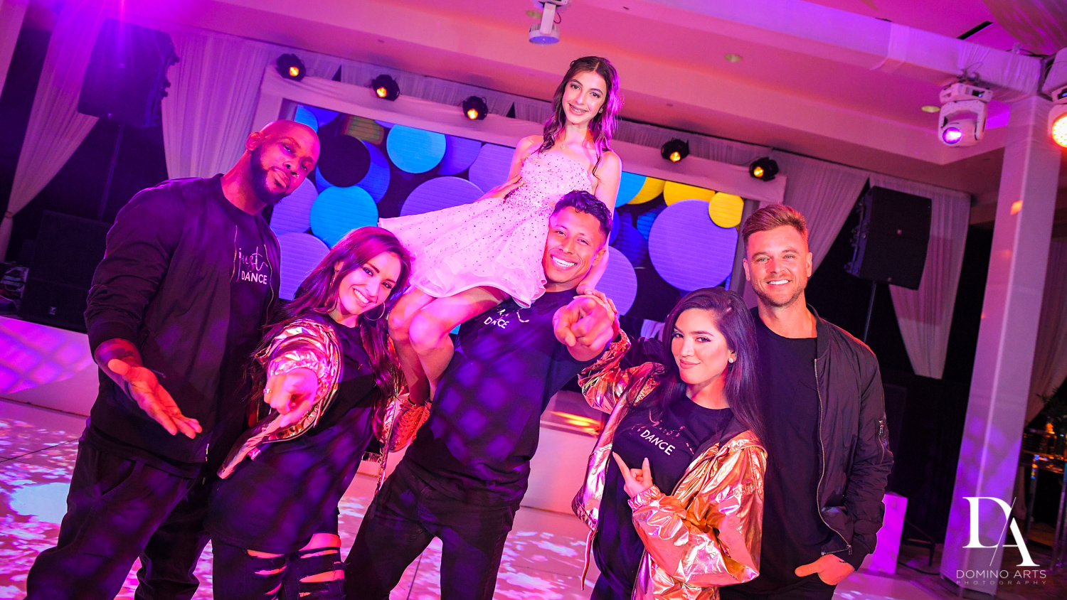 Rock With U at Masquerade Ball Bat Mitzvah at Ritz Carlton Fort Lauderdale by Domino Arts Photography