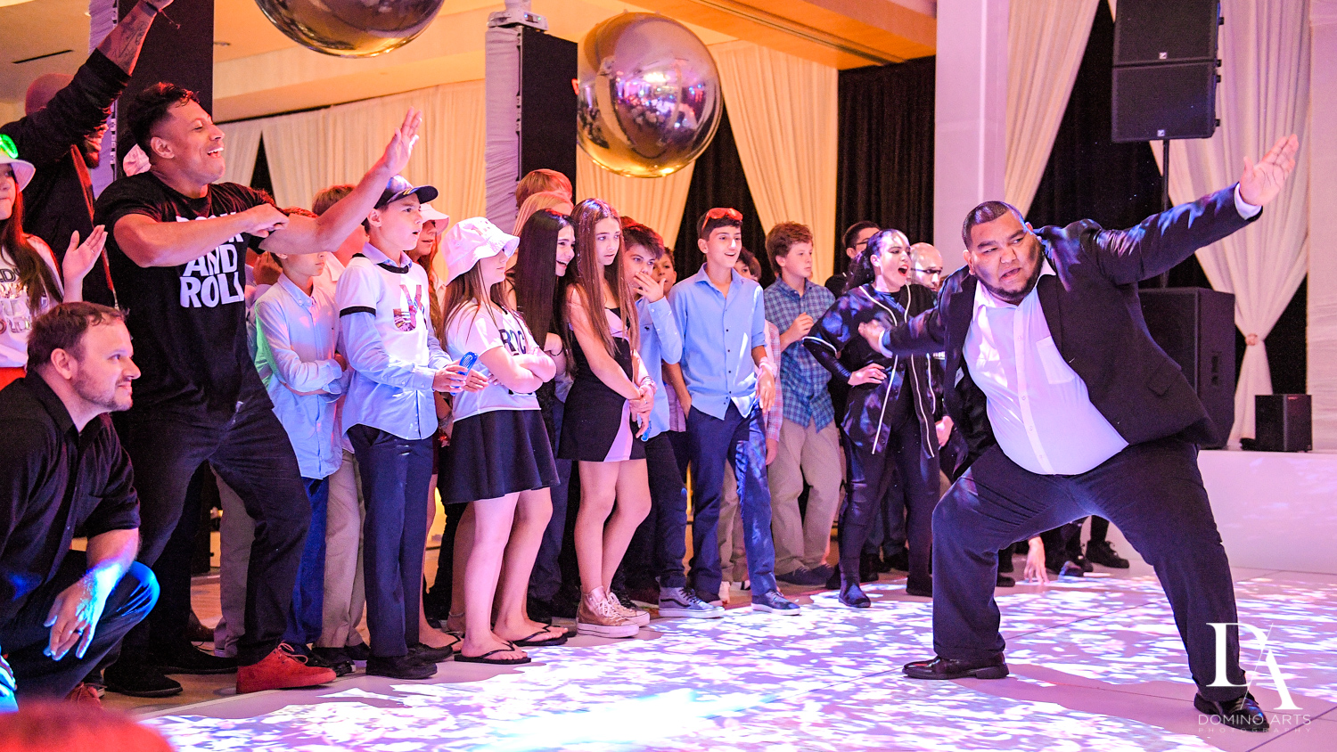 Show at Masquerade Ball Bat Mitzvah at Ritz Carlton Fort Lauderdale by Domino Arts Photography