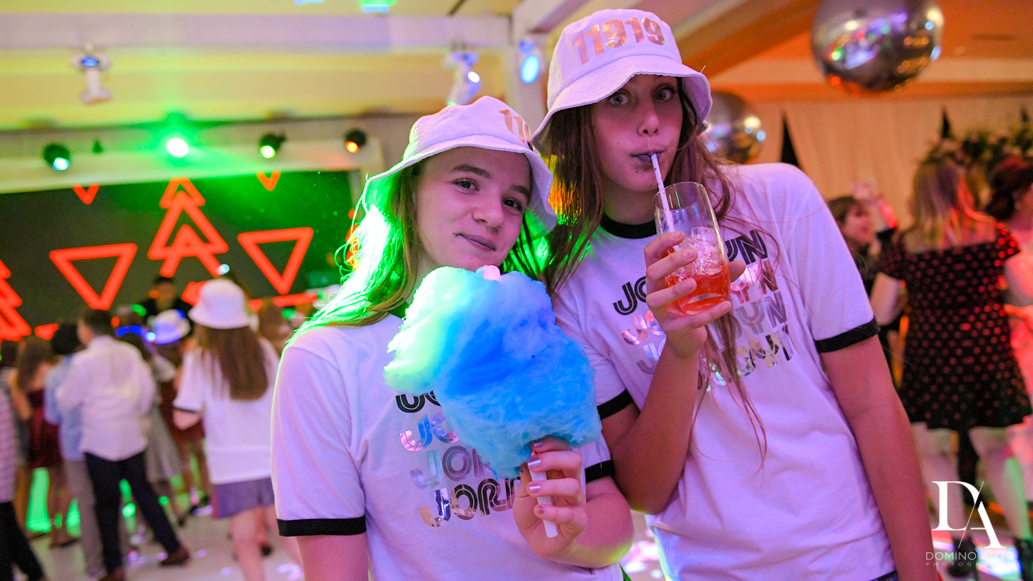 cotton candy at Masquerade Ball Bat Mitzvah at Ritz Carlton Fort Lauderdale by Domino Arts Photography