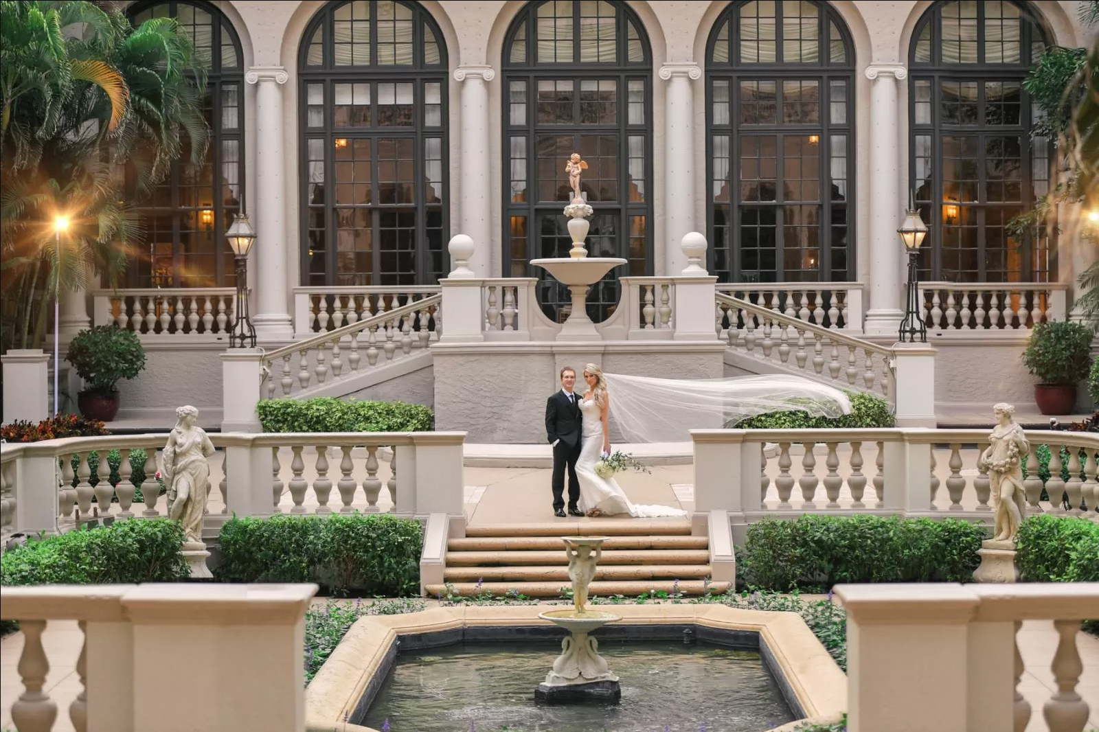 Extravagant Wedding at The Breakers Palm Beach by Domino Arts Photography