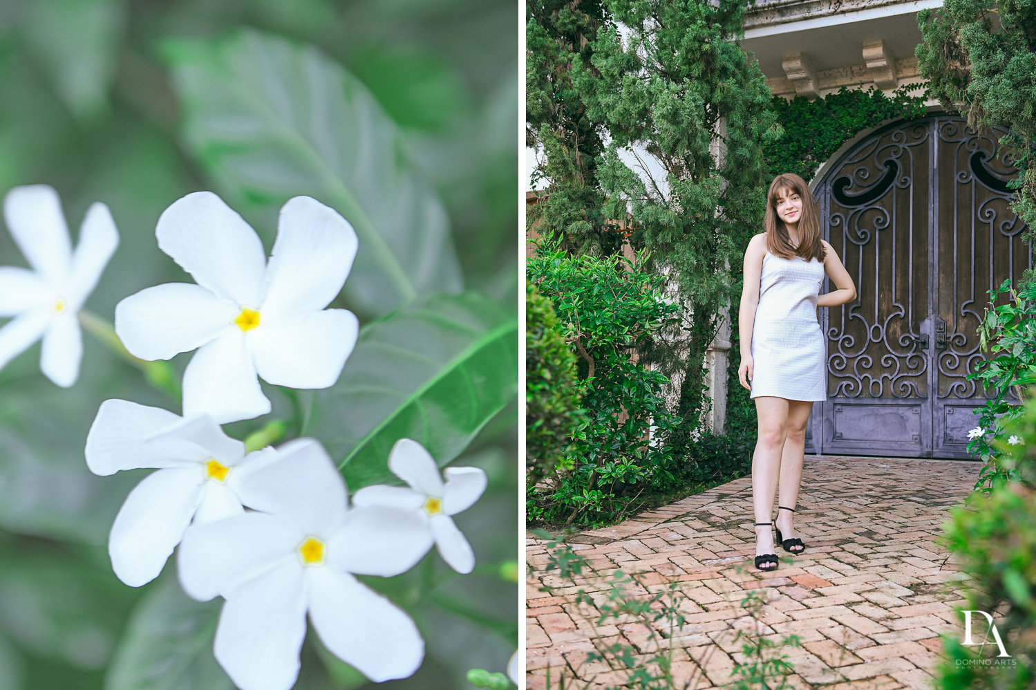 Flowers at Bat Mitzvah Pre Session in Miami Beach by Domino Arts Photography