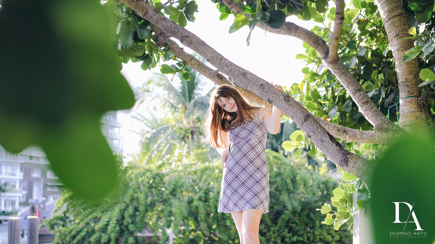 nature pictures at Bat Mitzvah Pre Session in Miami Beach by Domino Arts Photography
