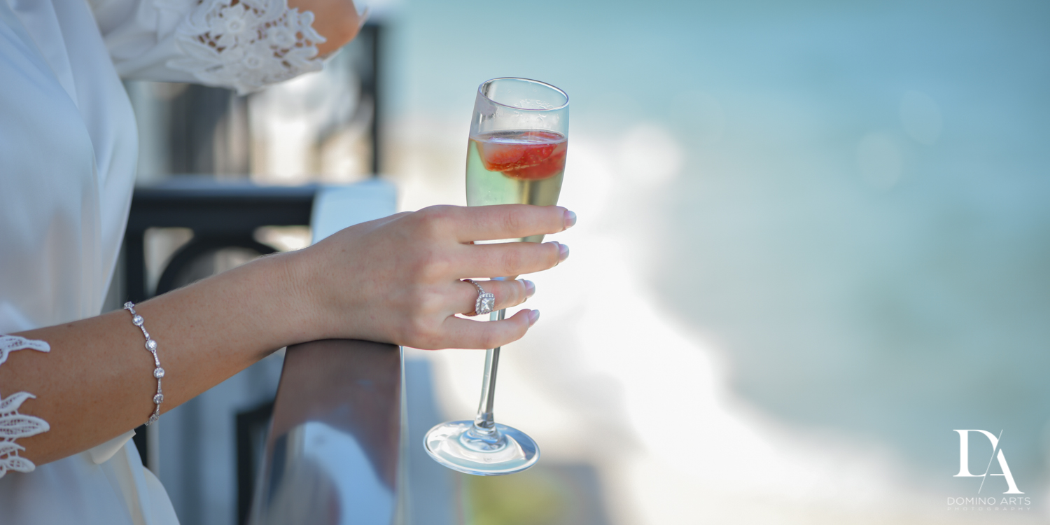 champagne at Extravagant Wedding at The Breakers Palm Beach by Domino Arts Photography