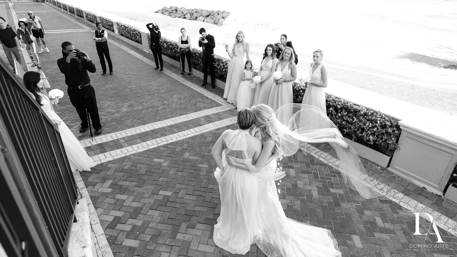 photojouranlism at Extravagant Wedding at The Breakers Palm Beach by Domino Arts Photography