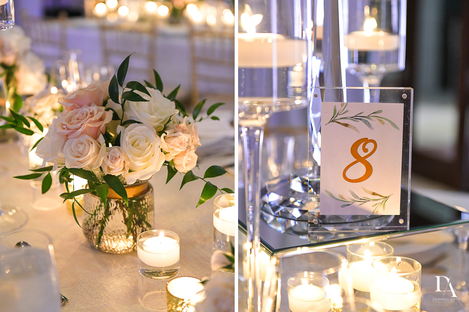 white details at Extravagant Wedding at The Breakers Palm Beach by Domino Arts Photography