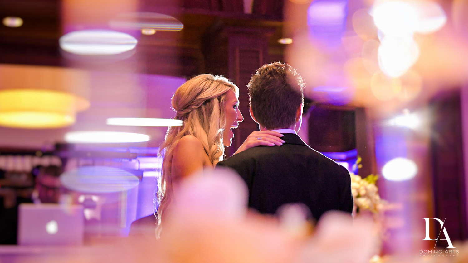 toast at Extravagant Wedding at The Breakers Palm Beach by Domino Arts Photography