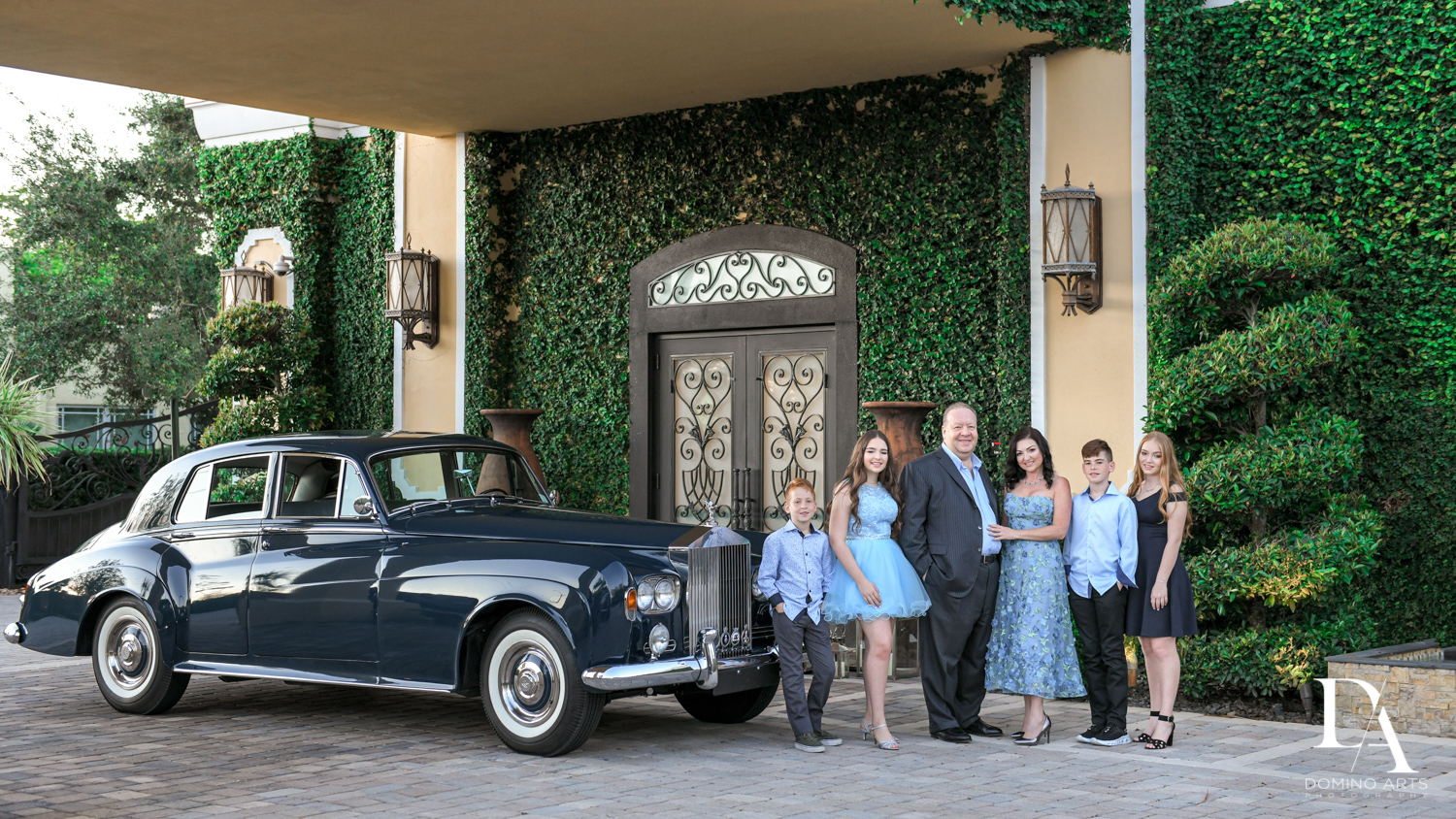 classic car at Exotic Moroccan BNai Mitzvah at Lavan by Domino Arts Photography