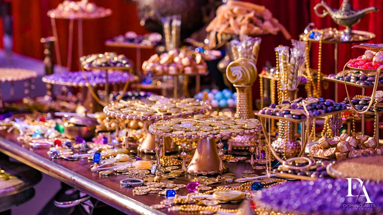 gold decor at Exotic Moroccan BNai Mitzvah at Lavan by Domino Arts Photography