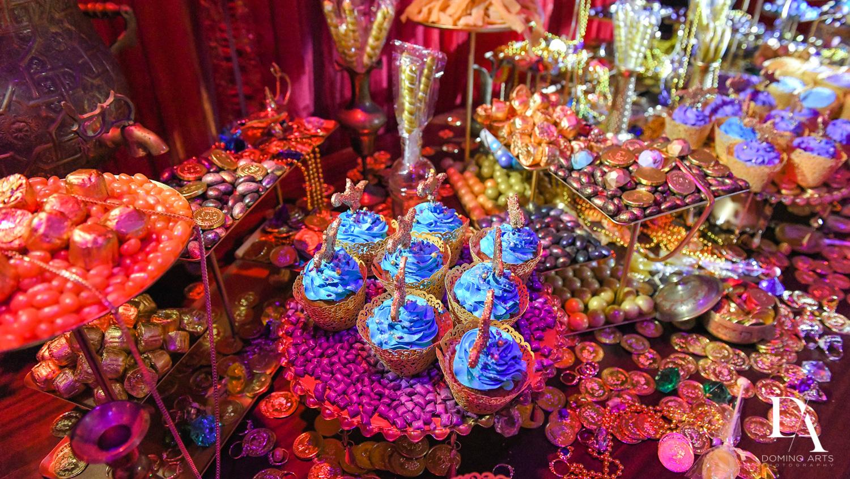 custom cupcakes at Exotic Moroccan BNai Mitzvah at Lavan by Domino Arts Photography
