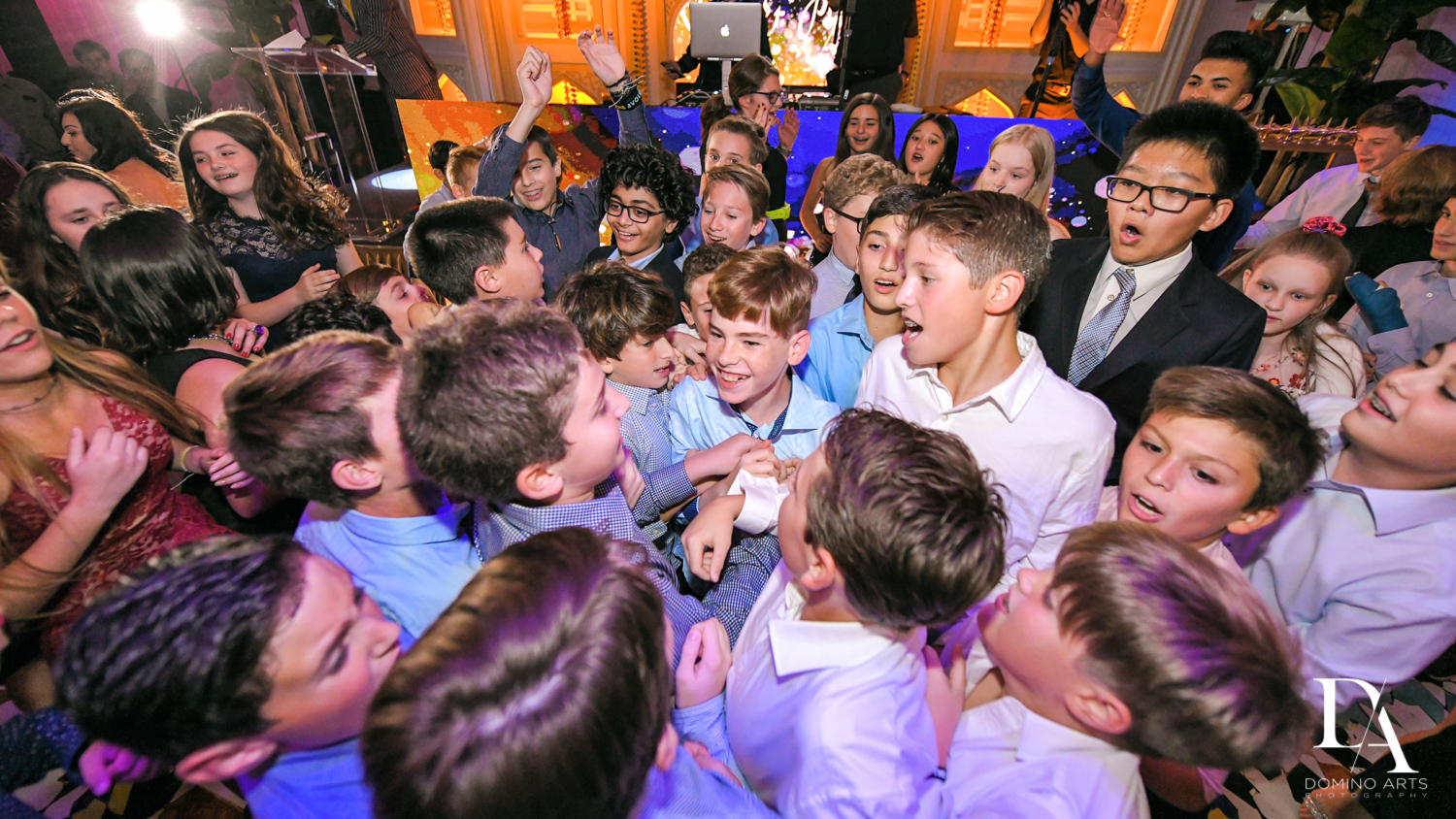 fun party pictures at Exotic Moroccan BNai Mitzvah at Lavan by Domino Arts Photography